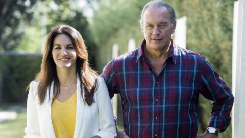Bertín Osborne y Fabiola Martínez/ canariasnoticias.es