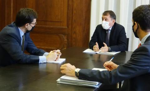 Reunión de José Manuel Bermúdez con Juan González-Barba / CanariasNoticias.es