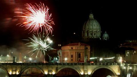 Cientos de aves mueren en Roma durante las celebraciones de inicio de año/ canariasnoticias.es