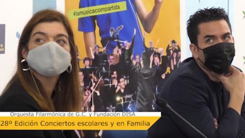 OFGC y la Fundación DISA presentan los Conciertos Escolares / CanariasNoticias.es