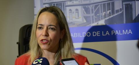 Susana Machín. Consejera de Sanidad del Cabildo de La Palma/ canariasnoticias