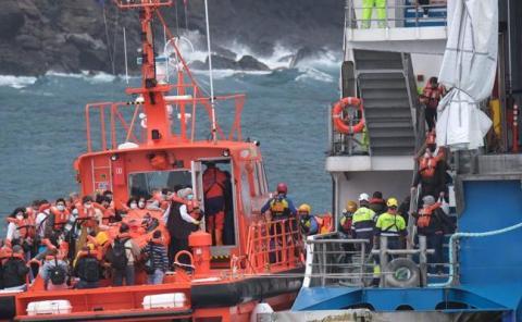 Rescate pasajeros Fred Olsen/ canariasnoticias.es