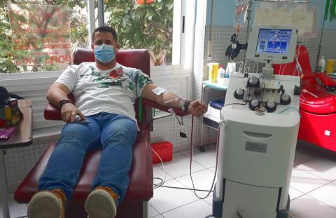 Donante de plaquetas del ICHH / CanariasNoticias.es