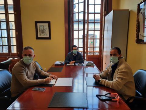 Firma convenio Arucas y Heredad de Aguas de Arucas y Firgas/ canariasnoticias.es