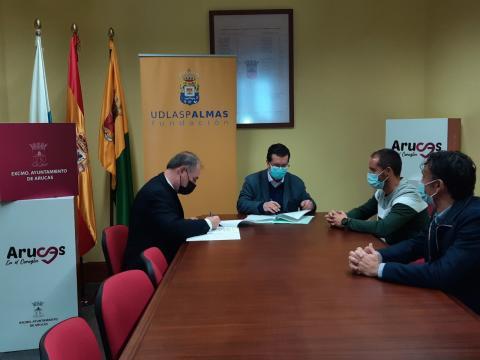 Ayuntamiento de Arucas y la Fundación UD Las Palmas/ canariasnoticias.es