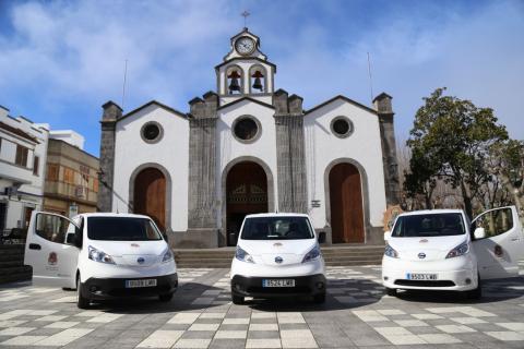 Vehículos eléctricos. Valleseco/ canariasnoticias.es