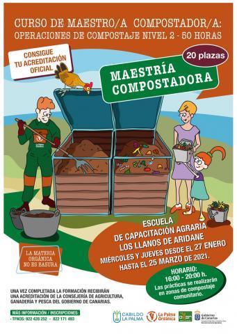 Maestría en Compostaje. La Palma/ canariasnoticias.es