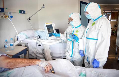 Enfermos Covid 19/ canariasnoticias.es