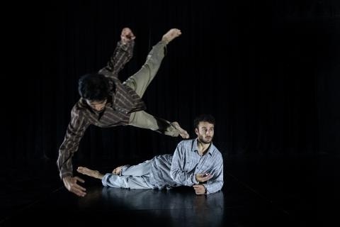 Los bailarines Chey Jurado y Akira Yoshida / CanariasNoticias.es