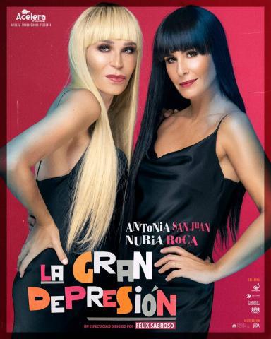 """Cartel de la comedia """"La Gran Depresión"""" / CanariasNoticias.es"""