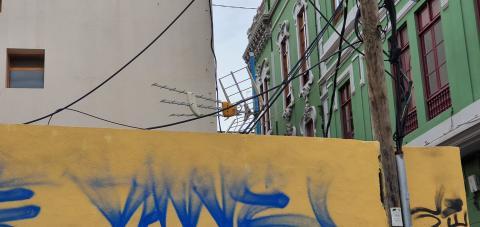 Ocupas en la calle Francisco Gourié/ canariasnoticias.es