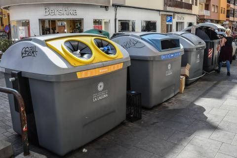 Punto de reciclaje en La Laguna / CanariasNoticias.es