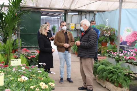 Alicia Vanoostende visita empresas de flor cortada de Tenerife / CanariasNoticias.es