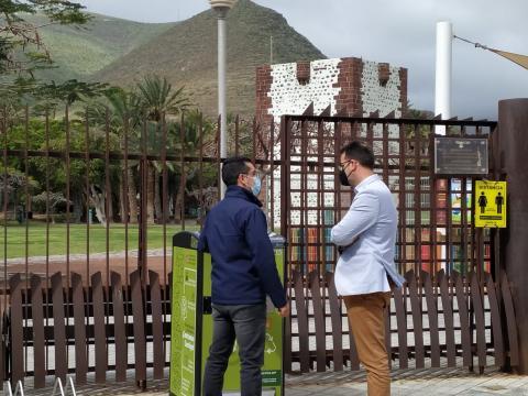 San Sebastián de La Gomera estrena 11 papeleras inteligentes / CanariasNoticias.es