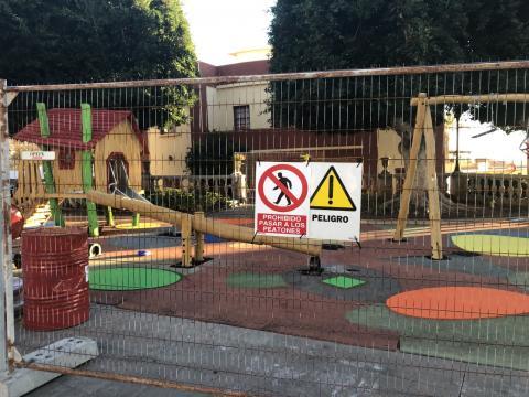 Parques infantiles. Guía de Isora/ canariasnoticias