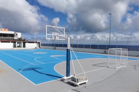Instalación deportiva en Santa Cruz de La Palma / CanariasNoticias.es