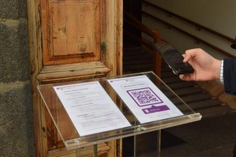 Servicio de cita previa con código QR en La Laguna / CanariasNoticias.es