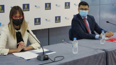 Guacimara Medina y Miguel Ángel Pérez / CanariasNoticias.es