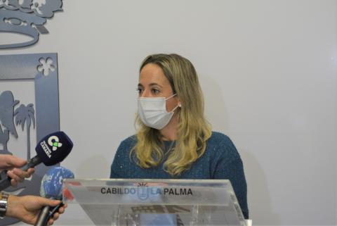 Susana Machín, consejera de Sanidad del Cabildo de La Palma / CanariasNoticias.es