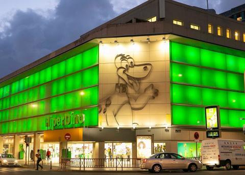 Tienda HiperDino en Triana en Las Palmas de Gran Canaria / CanariasNoticias.es