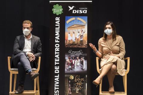 Presentación del Festival de Teatro Familiar de Fundación DISA / CanariasNoticias.es