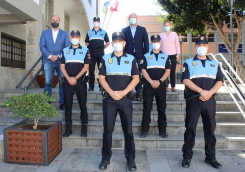 Toma de posesión de los Policías Locales de Granadilla de Abona / CanariasNoticias.es