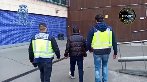 Detención de la Policía Nacional / CanariasNoticias.es