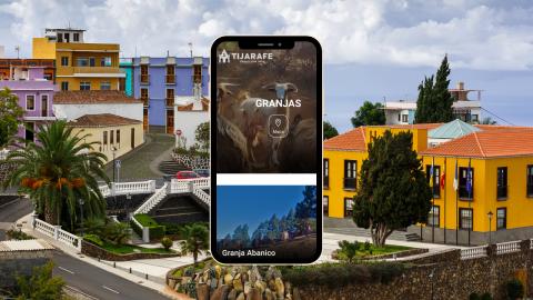 Granjas y zonas de pastoreo de Tijarafe en su web turística / CanariasNoticias.es