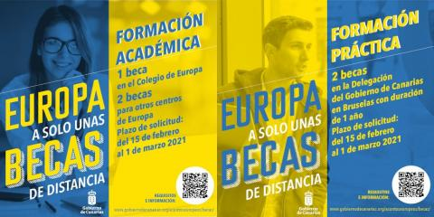 Becas de formación en asuntos europeos / CanariasNoticias.es