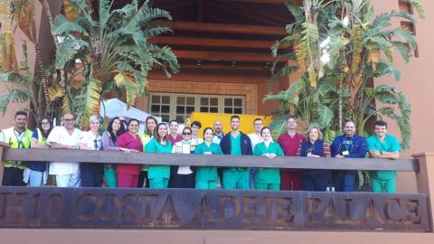 Personal en la cuarentena en un hotel del Sur de Tenerife / CanariasNoticias.es