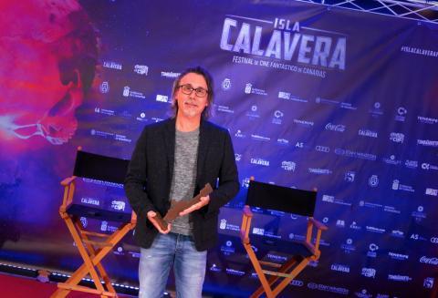 Elio Quiroga recibe el premio del Festival Isla Calavera / CanariasNoticias.es