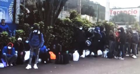 Inmigrantes abandonan el Centro de Las Raíces en La Laguna / CanariasNoticias.es