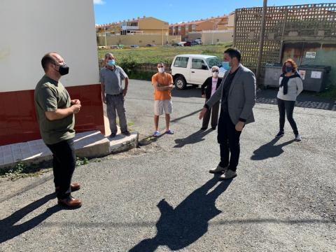 El alcalde de Telde, Héctor Suárez en el barrio de San Antonio / CanariasNoticias.es