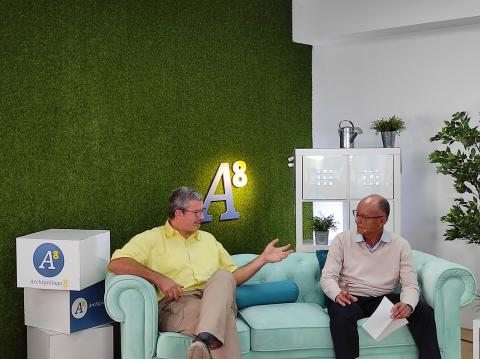 Rafael Martell y Roque Calero en el programa de Archipiélago 8 / CanariasNoticias.es