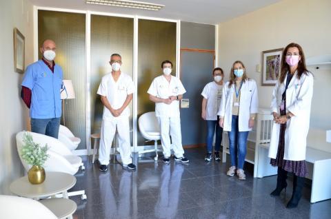 Sala de lactancia. Hospital Doctor Negrín/ canariasnoticias
