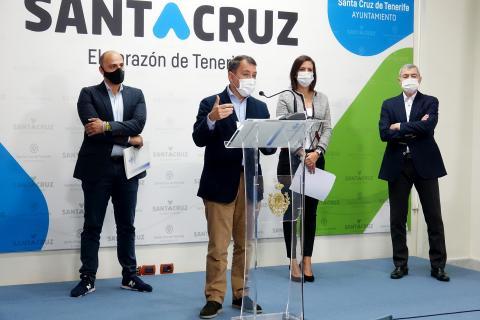Presentación de los Bonos Consumo de Santa Cruz / CanariasNoticias.es