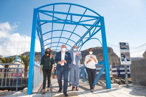 El Cabildo de Gran Canaria invierte en espacios turísticos de Mogán / CanariasNoticias.es
