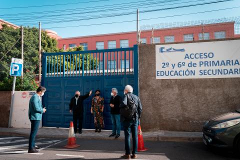 La Laguna mejorará la accesibilidad al Colegio Echeyde II (Tenerife) / CanariasNoticias.es