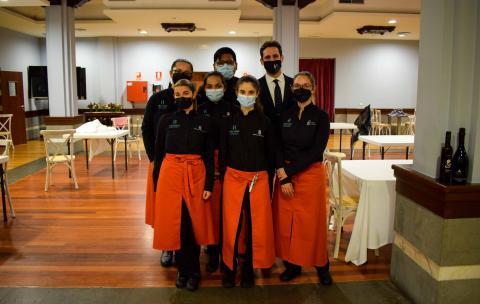 Alumnos de Hoteles Escuela de Canarias (Hecansa) / CanariasNoticias.es