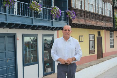 Gonzalo Pascual, consejero de Ordenación del Territorio del Cabildo de La Palma / CanariasNoticias.es