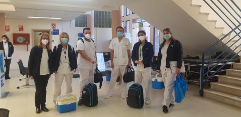 Equipo de vacunación Covid-19 a domicilio / CanariasNoticias.es