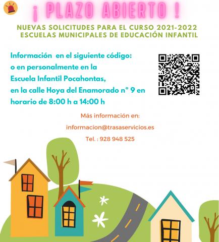 Periodo de inscripción para las Escuelas Municipales Infantiles de Las Palmas de Gran Canaria / CanariasNoticias.es