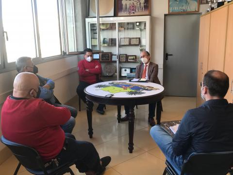 Reunión de las federaciones Regional e Insular de Gran Canaria de Lucha Canaria / CanariasNoticias.es