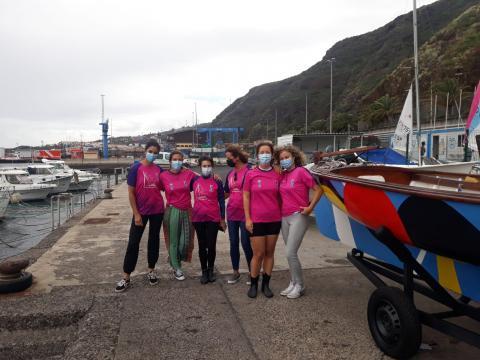 La Federación Canaria de Barquillos de Vela Latina Canaria homenajea a la mujer regatista/ canariasnoticias