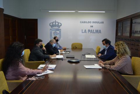 Reunión para la reactivación del comercio local de La Palma / CanariasNoticias.es