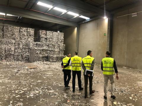 Planta de reciclaje de papel y envases en El Rosario (Tenerife) / CanariasNoticias.es