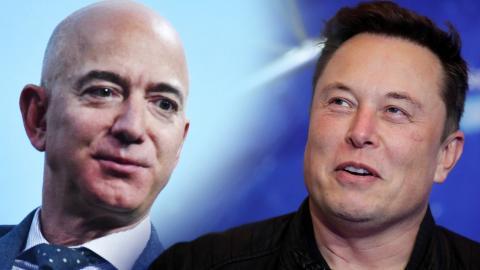 Jezz Bezos y Elon Musk