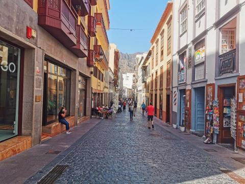 Calle O'Daly en Santa Cruz de La Palma / CanariasNoticias.es