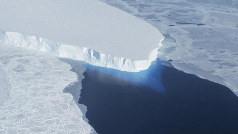 El glaciar Thwaites en la Antártida occidental