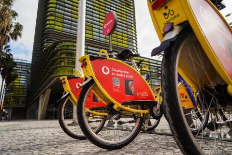 Sítycleta y Vodafone dan a conocer el 5G en Las Palmas de Gran Canaria / CanariasNoticias.es
